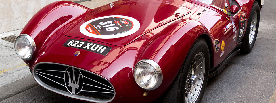 L'atelier Maserati fête ses 100 ans